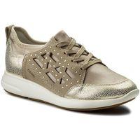 Sneakersy - ira b d821cb 015qd ch62l lt taupe/lt gold marki Geox
