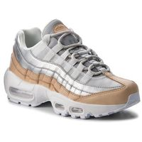 Buty - air max 95 se prm ah8697 002 pure platinum/metallic silver marki Nike