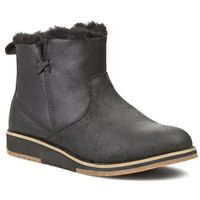 Buty EMU AUSTRALIA - Beach Mini W11026 Black, kolor czarny