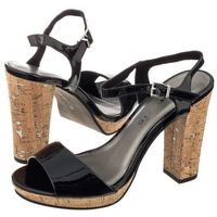 Sandały czarne 1-28002-38 018 black patent (tm87-a) marki Tamaris