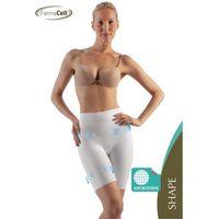 Wyszczuplające i modelujące szorty z podwójną warstwą modelującą xxl beż marki Farmacell