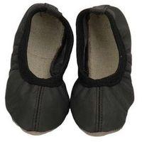 Baletki skórzane czarne (2010000520673)