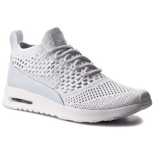 Buty NIKE - W Nike Air Max Thea Ultra Fk 881175 002 Pure Platinum/Pure Platinum, kolor biały