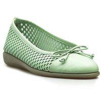 Baleriny Flexx 2101/55 Zielone lico, kolor zielony