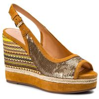 Espadryle - d yulimar f d92cff 0at21 c2x2d gold/curry, Geox, 36-41