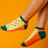 Skarpety damskie orange dots (jp6503), Supa! sox!