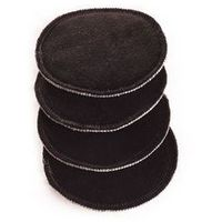 Ella´s House wkładki do biustonosza- 2 pary czarne, kolor czarny