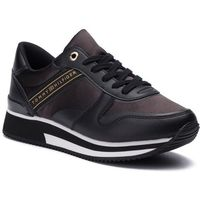 Sneakersy TOMMY HILFIGER - Mixed Active City Sneaker FW0FW04177 Black 990, w 7 rozmiarach