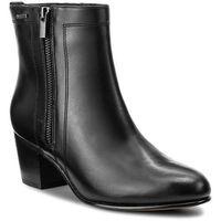 Botki CLARKS - Ceara Emi Gtx 261281884 Black Leather