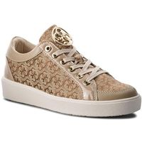 Sneakersy GUESS - FLGLN3 FAL12 BEIBR, kolor brązowy