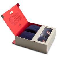 Skarpety Wysokie Damskie HUNTER - Boot Socks UAS3000AAA YI 0614 NVY