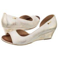 Sandały Maciejka Białe/Złote 02919-25/00-5 (MA228-a), kolor biały