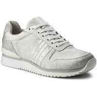 Sneakersy - x3x049 xl201 a032 o.wh/sil/o.wh/o.wh/s marki Emporio armani