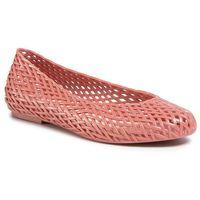 Baleriny MELISSA - Tao + Jason Wu Ad 32828 Pink Cota Doch Metalized 10647, kolor różowy