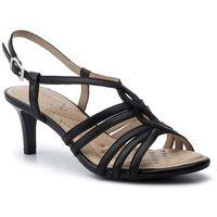 Sandały - 9-28318-32 black nappa 022 marki Caprice