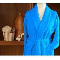 Szlafrok cortina frotex m błękitny-, Greno