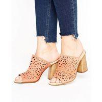 kayla suede cut out heeled mules - beige marki Carvela
