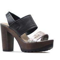 Sandały 66505 brązowe marki Nessi