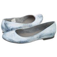 Maciejka Baleriny niebieskie przecierane 00903-43/00-5 (ma193-f)