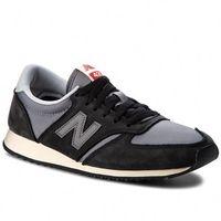 Sneakersy NEW BALANCE - U420KBG Czarny Szary, kolor szary