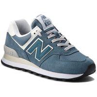 Sneakersy NEW BALANCE - WL574CRB Niebieski, kolor niebieski