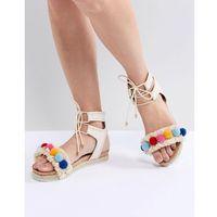 pebble sandal - beige marki Miss kg