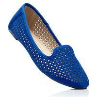 Bonprix Buty wsuwane niebieski