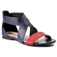 Sandały NESSI - 24101 Granat 3/Czerwony 3, w 5 rozmiarach