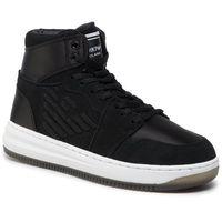 Sneakersy EMPORIO ARMANI - X3Z033 XM080 K001 Black/Black