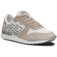 Sneakersy PEPE JEANS - Bimba Studs PLS30744 Off White 803