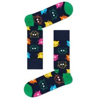 Skarpety Happy Socks Cat (koty) green M, kolor zielony