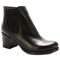 3802 czarne - botki z ociepleniem - czarny marki Tymoteo