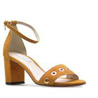 Sandały Lizard 04648-0125-01-55 Honey Miodowe zamsz, kolor pomarańczowy