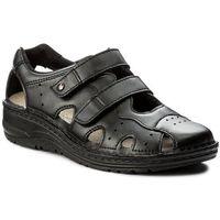 Sandały BERKEMANN - Larena 03100 Schwarz 903, w 7 rozmiarach