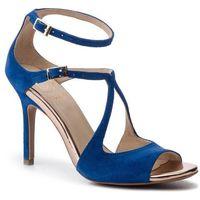 Sandały BALDOWSKI - D02492-3436-002 Zamsz Girotti 82314, kolor niebieski