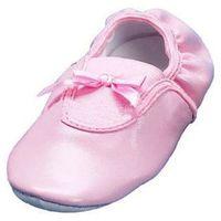 Playshoes balerinki z kokardką kolor różowy