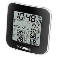 Hyundai Stacja meteo ws 8236 czarna/srebrna