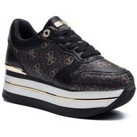 Sneakersy - hinders3 fl7hn3 fal12 brown/black, Guess