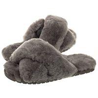 Emu australia Klapki mayberry charcoal w11573 (em230-a)