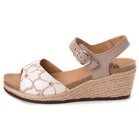 Scholl sandały damskie Galyn 38 beżowy, kolor beżowy