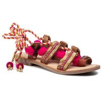 Sandały - yurak 40505-13 fuchsia marki Gioseppo