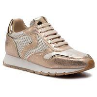 Voile blanche Sneakersy - julia 0012013537.09.0q06 platino