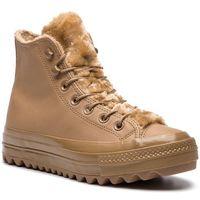 Sneakersy - ctas lift ripple hi 562424c teak/teak/teak marki Converse