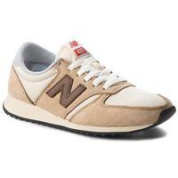 Sneakersy - u420bbg beżowy brązowy marki New balance