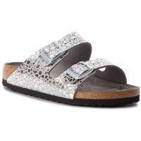 Birkenstock Klapki - arizona bs 1011913 metallic stones silver gray