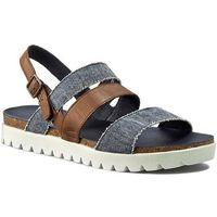 Sandały - 822.75.01 bison/jeans marki Camel active