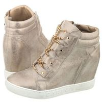 Sneakersy złote przecierane b3878 (ci219-a) marki Carinii