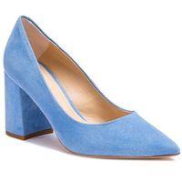 Półbuty - 75403-89-i53/000-04-00 błękitny marki Solo femme