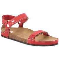 Sandały - 07-0095-01-9-12-03 czerwony marki Nik