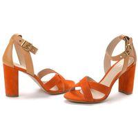 Gant sandały damskie harper 38 pomarańczowy